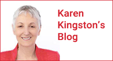 Karen Kingston's Blog